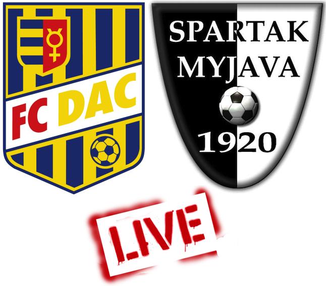 FC DAC 1904 - Spartak Myjava 1:0 (Online)