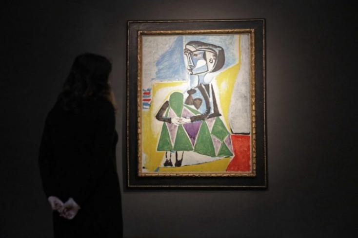 Picasso múzsájának portréja 30 millió dollárért kelhet el egy New York-i árverésen