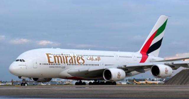 Átvette századik Airbus A380-asát az Emirates