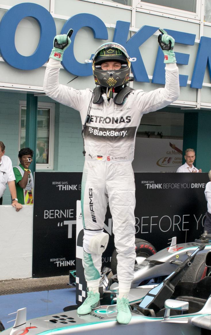 Német Nagydíj - Rosberg nyert hazai közönség előtt