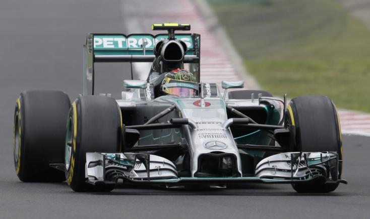 Magyar Nagydíj - Rosberg az élről, Hamilton hátulról rajtol