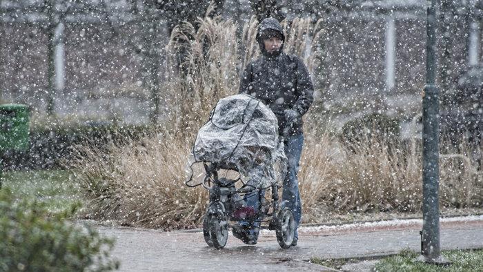 Jövő héten az esőt fokozatosan havazás válthatja fel