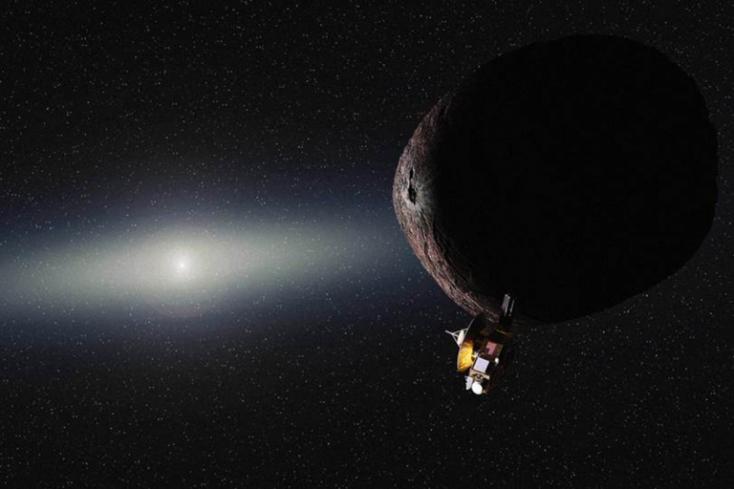 Hold keringhet az űrszonda által megfigyelt égitest körül