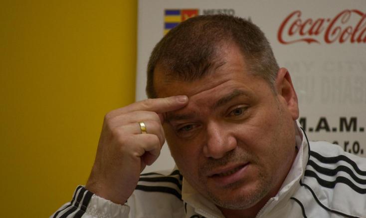 Podbrezová-DAC - Radványi: Kaptunk egy pofont, a következők pedig majd jönnek a legközelebbi edzésen