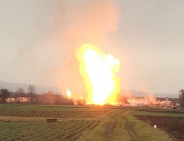 Az ausztriai gázrobbanás miatt negyedével csökkent az Ukrajnából az Európai Unióba szállított földgáz mennyisége