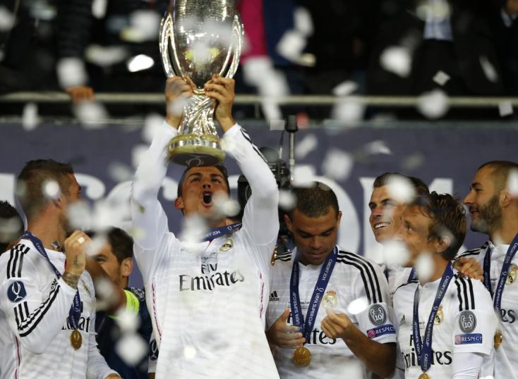 Ronaldo duplájával a Real magabiztosan hódította el az Európai Szuperkupát