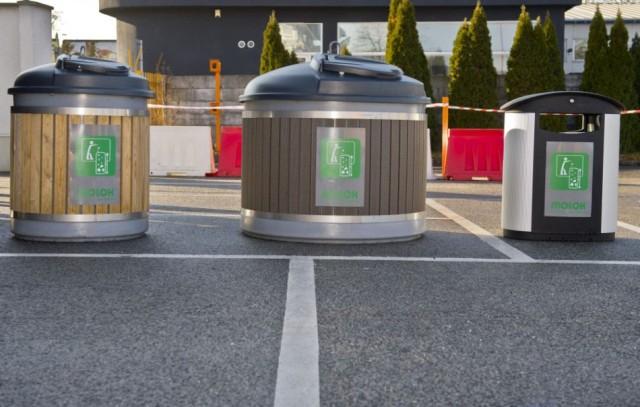A vágsellyei lakosok már használhatják az új, süllyesztett konténereket