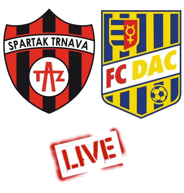 Fortuna Liga: Spartak Trnava - FC DAC 1904 3:1 (Online)