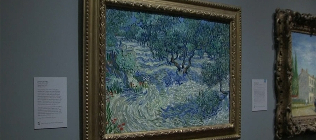Szöcske maradványait fedezték fel egy Vincent van Gogh-festményen