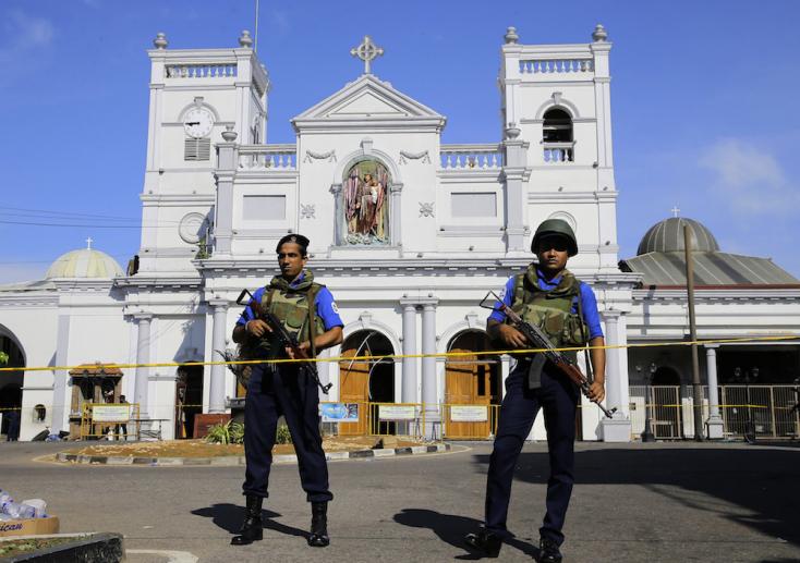 Eddig 40 embert vettek őrizetbe a húsvéti terrortámadások miatt