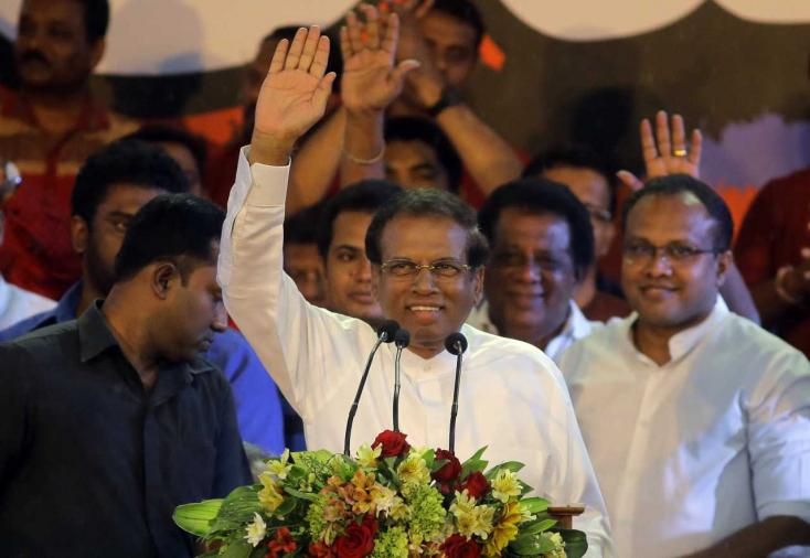 A Srí Lanka-i elnök feloszlatta a parlamentet, és új választásokat írt ki