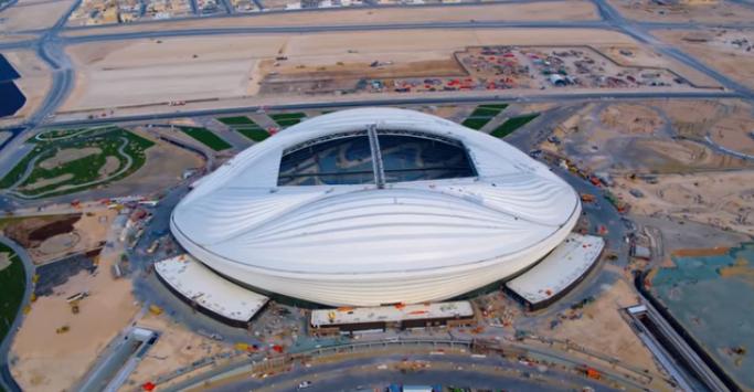 Vb-2022 - Átadták az első új stadiont Katarban (VIDEÓ)