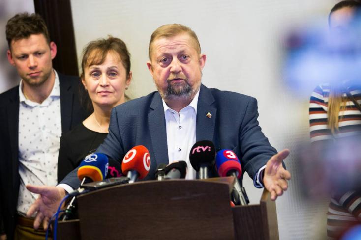 A leopoldovi elítéltek elnöke Štefan Harabin!