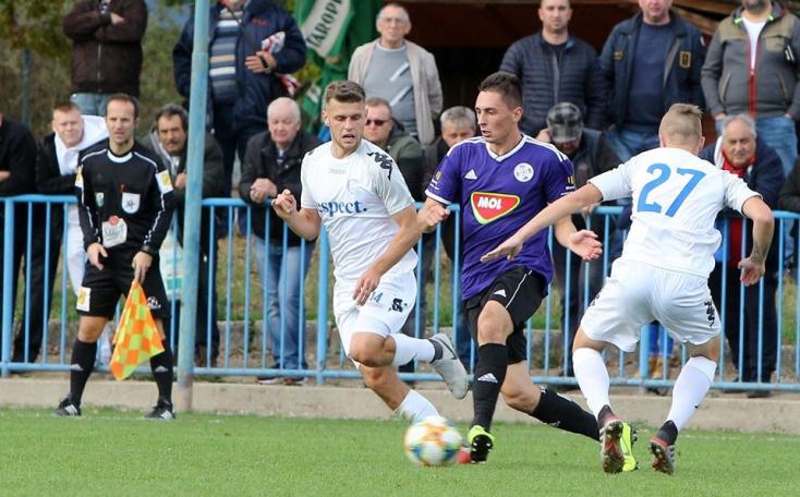 II. labdarúgóliga, 9. forduló: Dél-szlovákiai riválisok párbaja a Pomléban