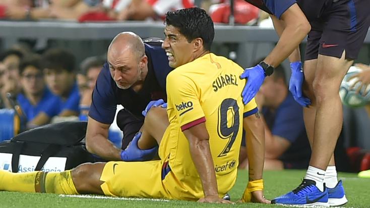 Suáreznek izomsérülése van