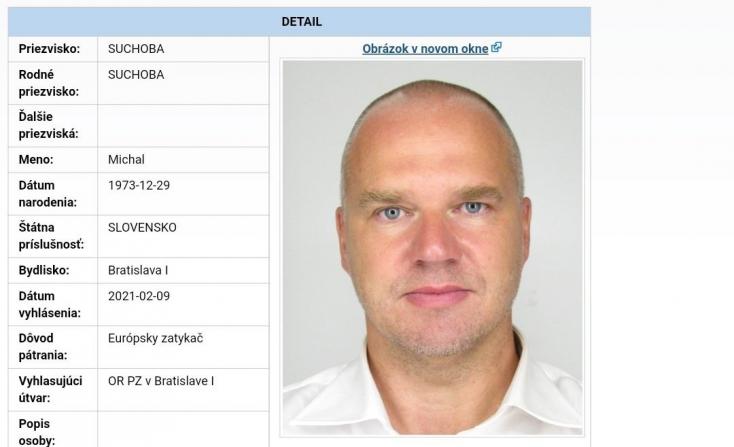 A rendőrség megerősítette, hogy őrizetbe vették Michal Suchobát