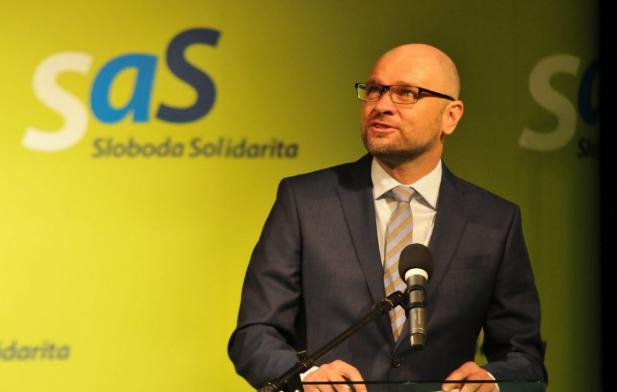 Richard Sulík maradt az SaS elnöke