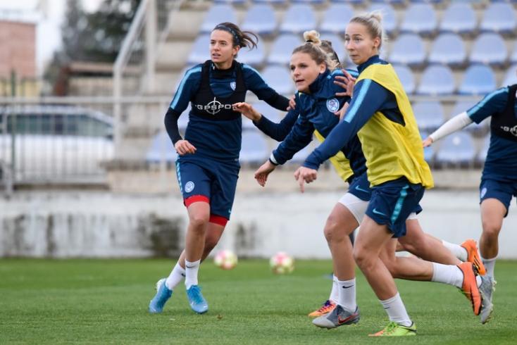 Csalódott a szlovák női fociválogatott a magyarokkal vívott meccs után