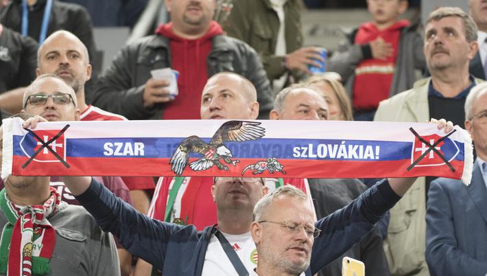 A szlovák külügyminisztérium behívatta a magyar nagykövetet a Magyarország – Szlovákia Európa-bajnoki selejtezőn történtek miatt