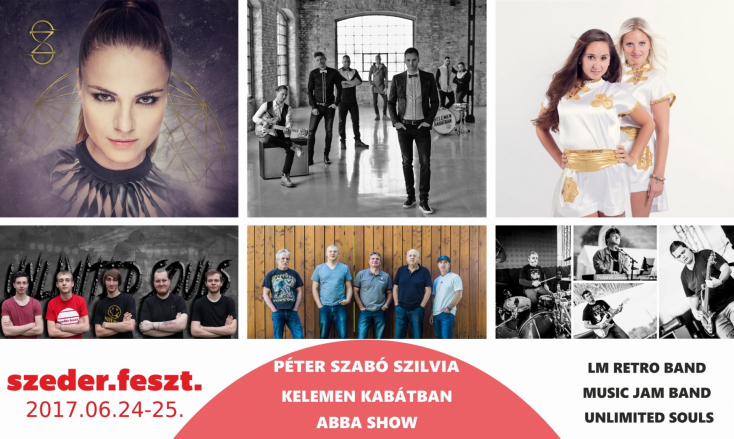 Sok jó zene egy helyen – 2017-ben is szederFESZT Csábon