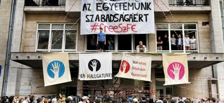 A Híd elnökének szimpatikus a budapesti Színház- és Filmművészeti Egyetem diákjainak tiltakozó blokádja