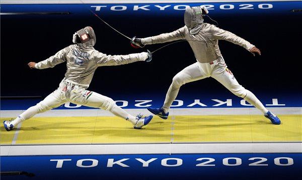 Tokió 2020: Szilágyi Áron nyolcaddöntős férfi kardban, a világbajnok Szatmári András kiesett