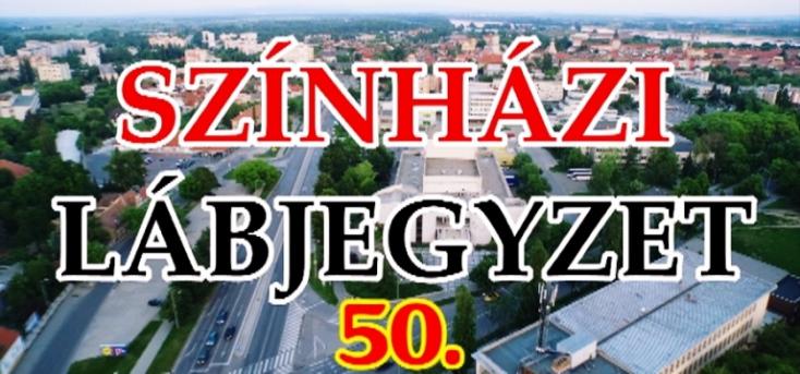 Ötvenedik színházi lábjegyzet a Komáromi Jókai Színház háttérdolgozóival (videó)