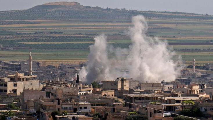 Damaszkusz talán vegyi fegyvert vetett be