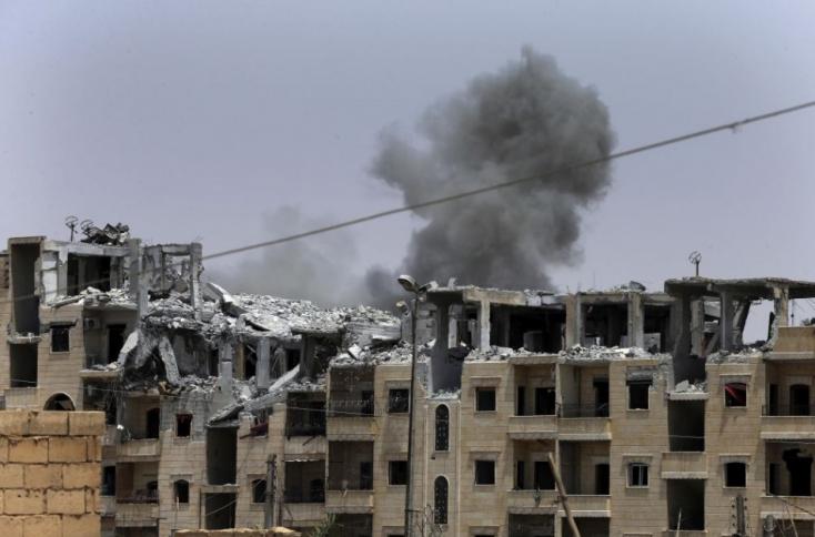 Többen meghaltak a kormányerők és a lázadók szövetségeseinek összecsapásaiban Szíriában