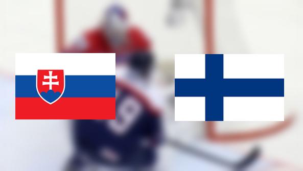 Hoki-vb: Szlovákia – Finnország 2:4 (Online)