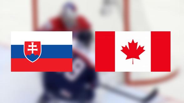 Hoki-vb: Szlovákia – Kanada 5:6 (Online)