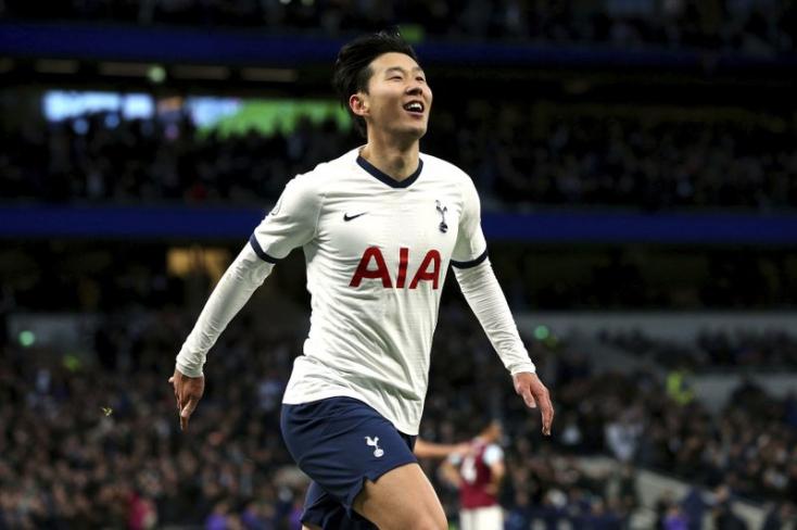 Premier League: Szon mesternégyesével megszerezte első győzelmét a Tottenham