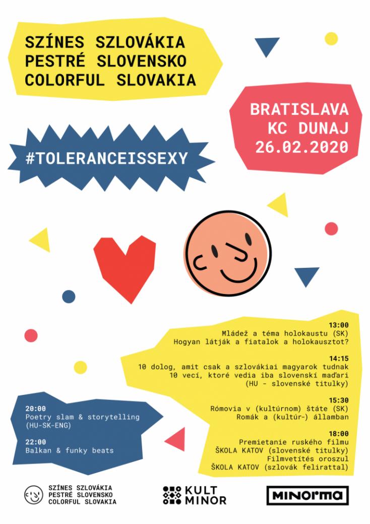 Szlovákia színes, és ezzel nincs semmi baj