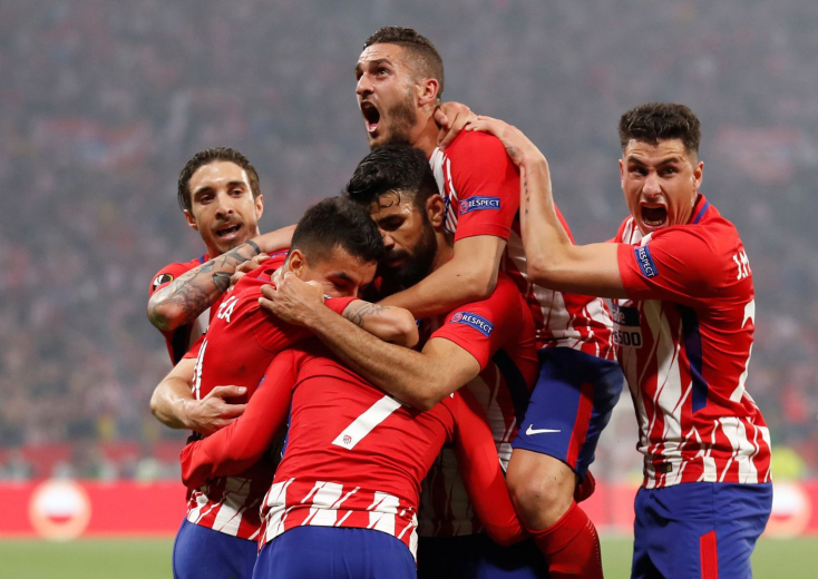 Európa Liga-döntő - Az Atlético Madrid esélyt sem adott a Marseille-nek