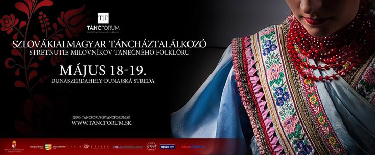 Szlovákiai Magyar Táncháztalálkozó Dunaszerdahelyen!