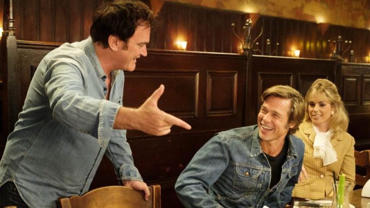 Tarantino könyvet íraVolt egyszer egy Hollywoodcímű filmjéből