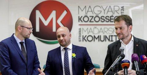 Az MKP és az OĽaNO választói nem akarnak közös jelöltet