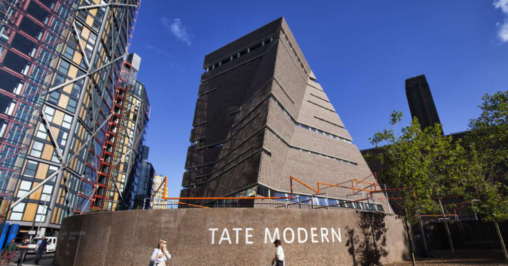 A Tate Modern volt a leglátogatottabb 2018-ban Angliában