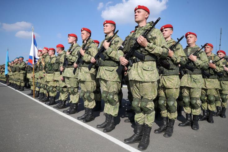 Harci robotokat mutattak be Putyinnak a Zapad-2021 hadgyakorlaton