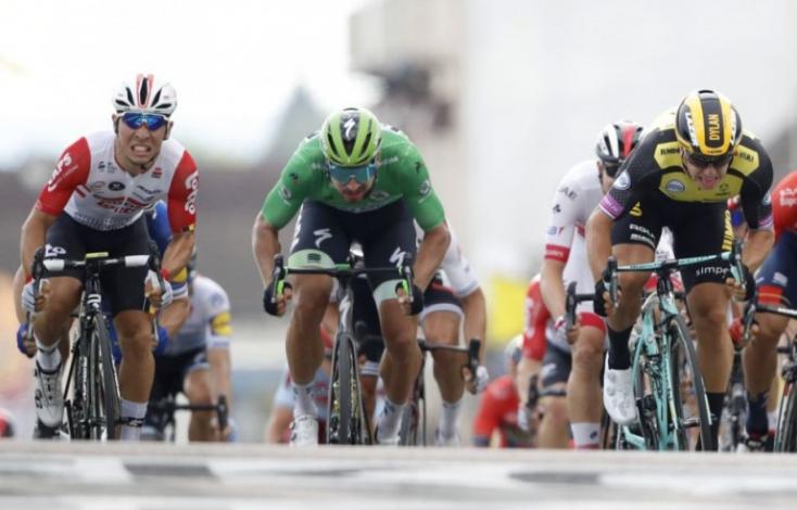 Tour de France - Caleb Ewan első sikere, Alaphilippe sárgában maradt