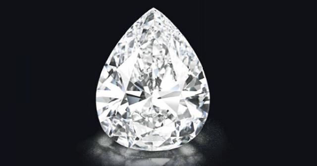 Ritka, 50 karátos fehér gyémánt kelt el 6,5 millió svájci frankért