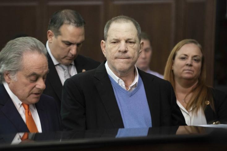 Tagadja bűnösségét Harvey Weinstein