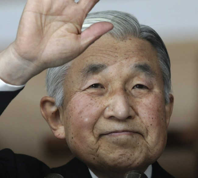 A japán kormány elfogadta a császár lemondását lehetővé tevő törvényjavaslatot