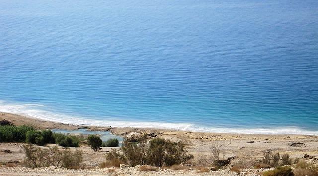 Százezer műanyag zacskóból készítették el a Holt-tenger térképét