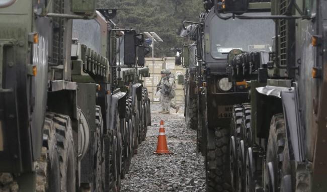 Jövő héten külföldi haditechnikai eszközöket láthatunk az utakon