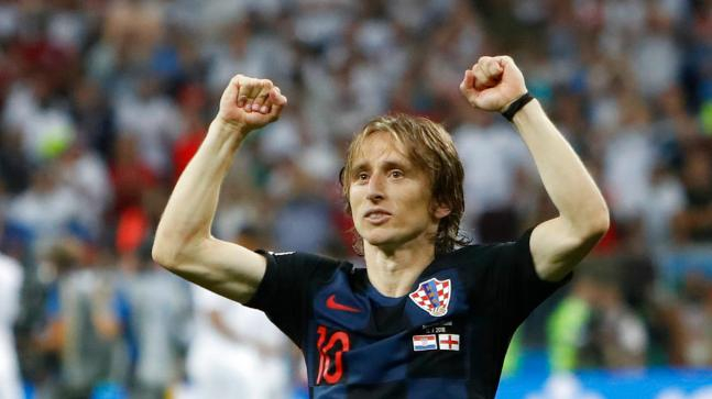 Luka Modric szerint az angol újságírók lebecsülték a horvát fociválogatottat