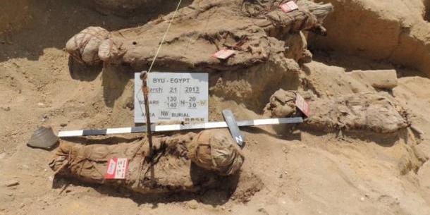 Milliónyi múmiát rejtő ókori temetőre bukkantak