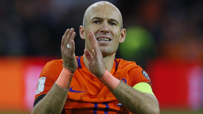 Arjen Robben számára nehéz volt a búcsú a válogatottságtól