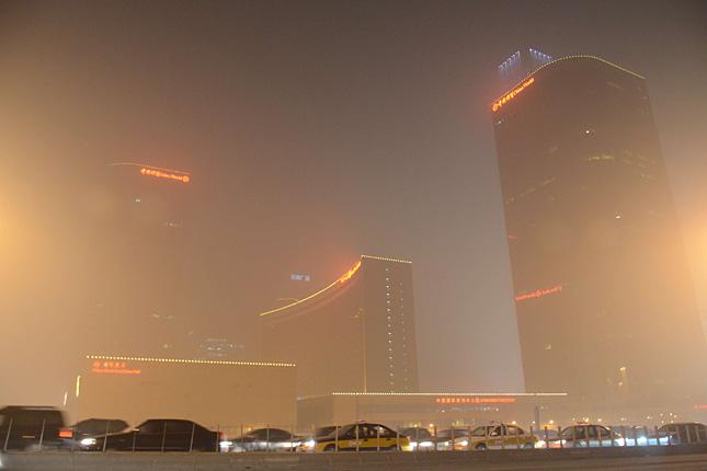 Szmog fojtogatja Pekinget
