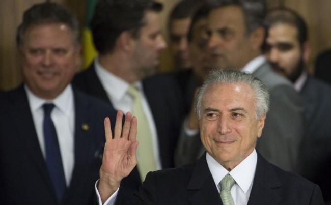 Vesztegetési ügybe keveredett bele a brazil elnök